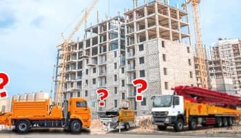 Как выбрать бетононасос для аренды?